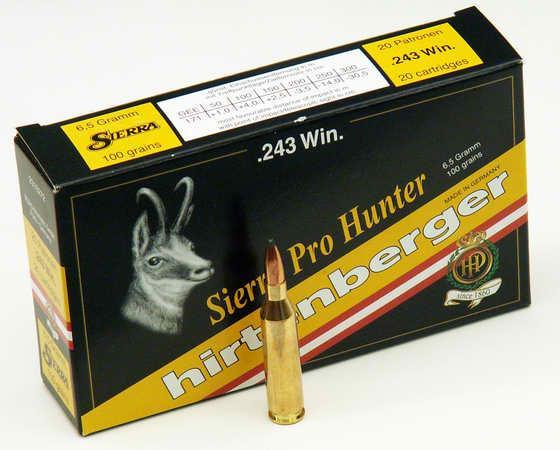 Dalekohledy - NÁBOJ HIRTENBERGER 243 WIN SP Sierra Pro-Hunter 6 5g