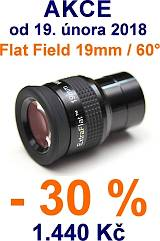 Okulár SkyWatcher 19mm Extra Flat Field 60°